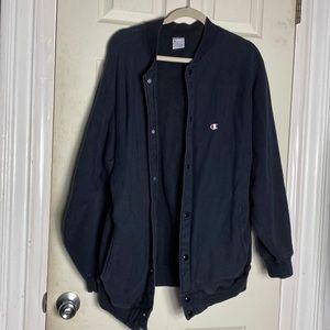Vintage Champion button down sweatshirt XL euc
